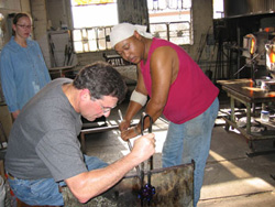 glassblowing instruction